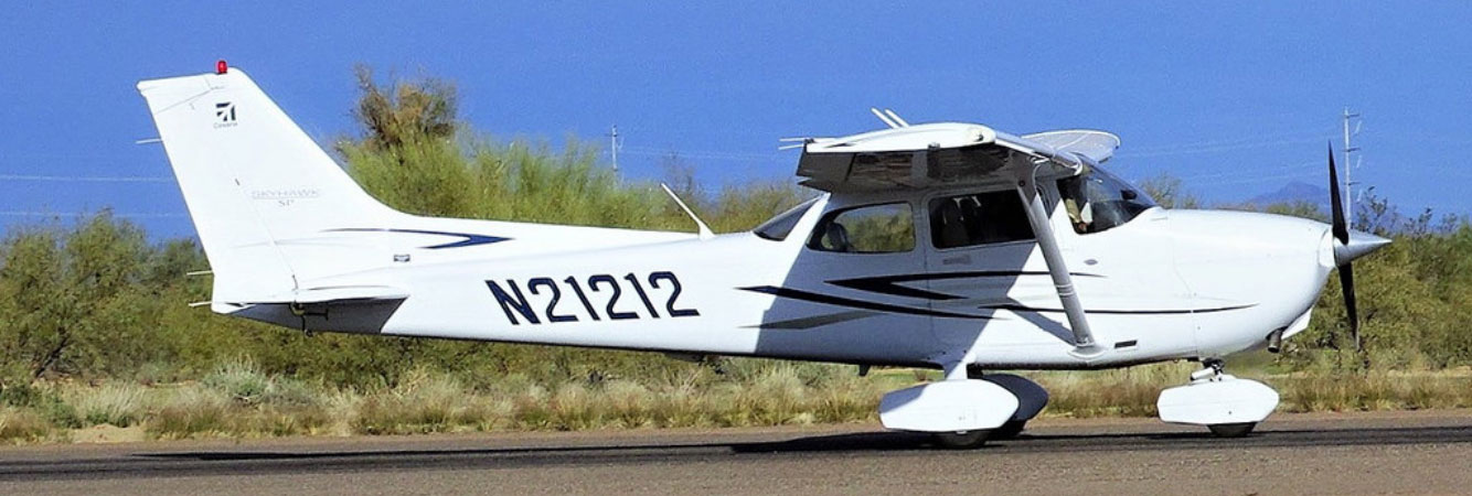 Cessna training aircraft