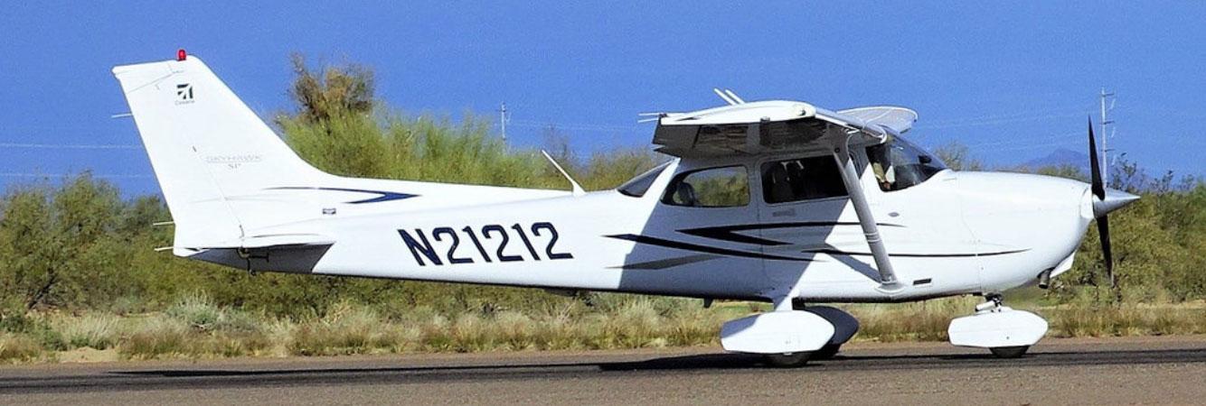 Cessna training aircraft